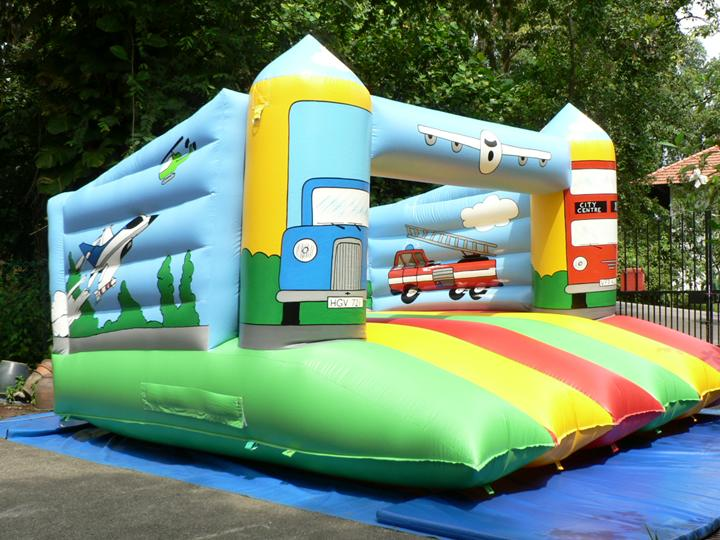 kids vehicle land inflatables